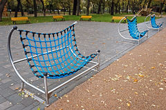 Urban furniture for children 5 Royalty Free Stock Photos