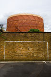 Urban Gasometer Royalty Free Stock Images