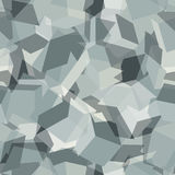 Urban geometric camouflage. Digital seamless pattern. Royalty Free Stock Photography