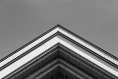 Urban Geometry. Abstract architectural design. Royalty Free Stock Photo