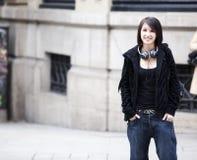Urban girl portrait Stock Photography