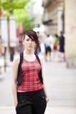 Urban girl portrait Stock Photos