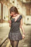 Urban girl Stock Photography