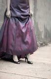 Urban Gown Royalty Free Stock Photos