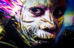 Urban graffiti Royalty Free Stock Image