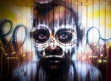 Urban graffiti Stock Images