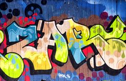 Urban Graffiti Los Angeles California royalty free stock images
