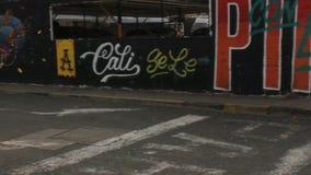 Urban Graffiti And Vandalism. Stock video of urban graffiti and vandalism stock footage