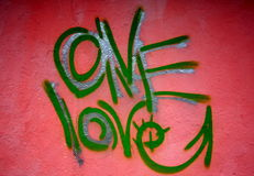 Urban graffiti wall Royalty Free Stock Photo