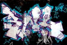 Urban graffiti wall Royalty Free Stock Photography