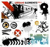 Urban graphic elements 2. Graphic elements for urban and city designs Stock Photo