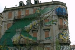 Urban graphite. urban art Stock Photo