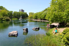 Urban green space Royalty Free Stock Photography
