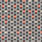 Urban grid seamless pattern Royalty Free Stock Photography
