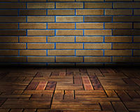 Urban Grunge Abstract Interior Brick Wall Stage Background Texture Royalty Free Stock Photo