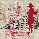 Urban Grunge Background Stock Image