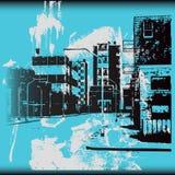 Urban Grunge Background Stock Images