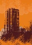 Urban grunge background Royalty Free Stock Images