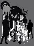 Urban grunge BG Stock Images