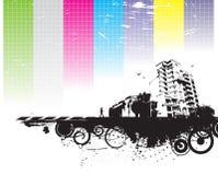 Urban grunge city Royalty Free Stock Photography