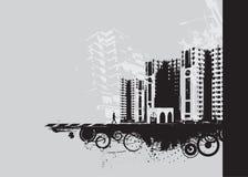 Urban grunge city Royalty Free Stock Photo