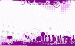 Urban grunge city Stock Image