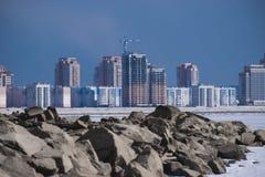 Urban high-rise buildingsnull Stock Image