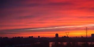 Sunsets sunrises Stock Photo