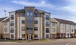 Urban housing in Milton Keynes Royalty Free Stock Photos