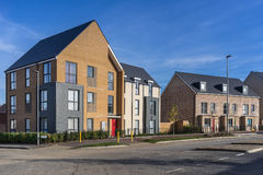 Urban housing in Milton Keynes Royalty Free Stock Photography