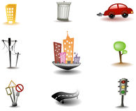 Urban Icons Stock Images