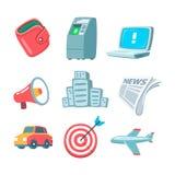 Urban icons Royalty Free Stock Photos