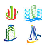 Urban icons logo Royalty Free Stock Photo