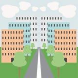 Urban illustration Stock Photo