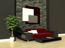 Urban interior. 3d generated render of urban design Stock Photo