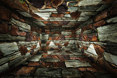 Urban Interior Brick Walls Stage Background Royalty Free Stock Photography