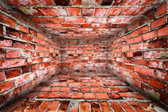 Urban Interior Brick Walls Stage Background Royalty Free Stock Images