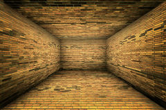 Urban Interior Brick Walls Stage Background Stock Photo