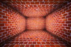 Urban Interior Brick Walls Stage Background Stock Images