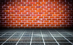 Urban Interior Brick Walls Stage Background. Texture Stock Images