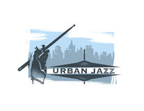 Urban jazz. Art concept Royalty Free Stock Photography