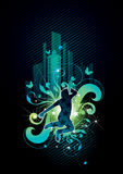 Urban jumper Stock Images