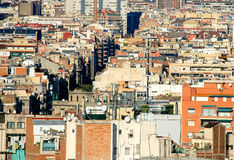 Urban jungle - Barcelona Stock Photo
