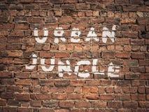 Urban Jungle Graffiti Stock Photography