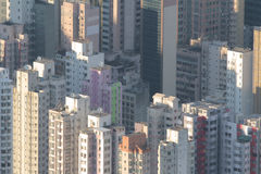 Urban of kowloon at daytime Royalty Free Stock Photos