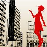 Urban Lady Stock Image