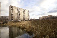 Urban landscape. Royalty Free Stock Image