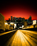 Urban landscape Royalty Free Stock Photos