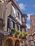 Urban landscape. Alsace. Colmar. Royalty Free Stock Image