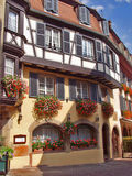 Urban landscape. Alsace. Colmar. Stock Image